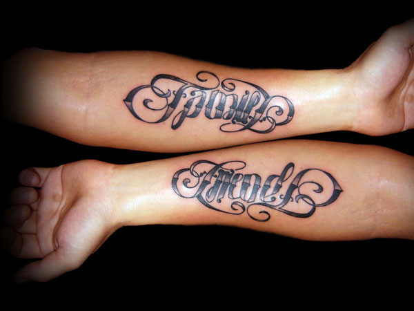 Ambigram Tattoo Design Picture 05