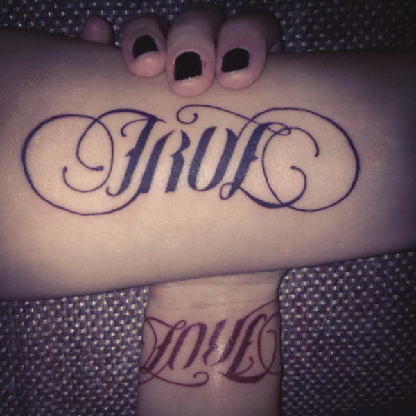 Ambigram Tattoo Design Picture 08