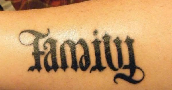 Ambigram Tattoo Design Picture 09