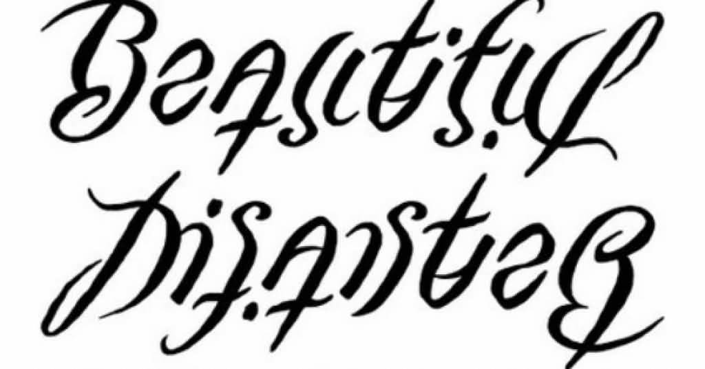 Ambigram Tattoo Design Picture 11
