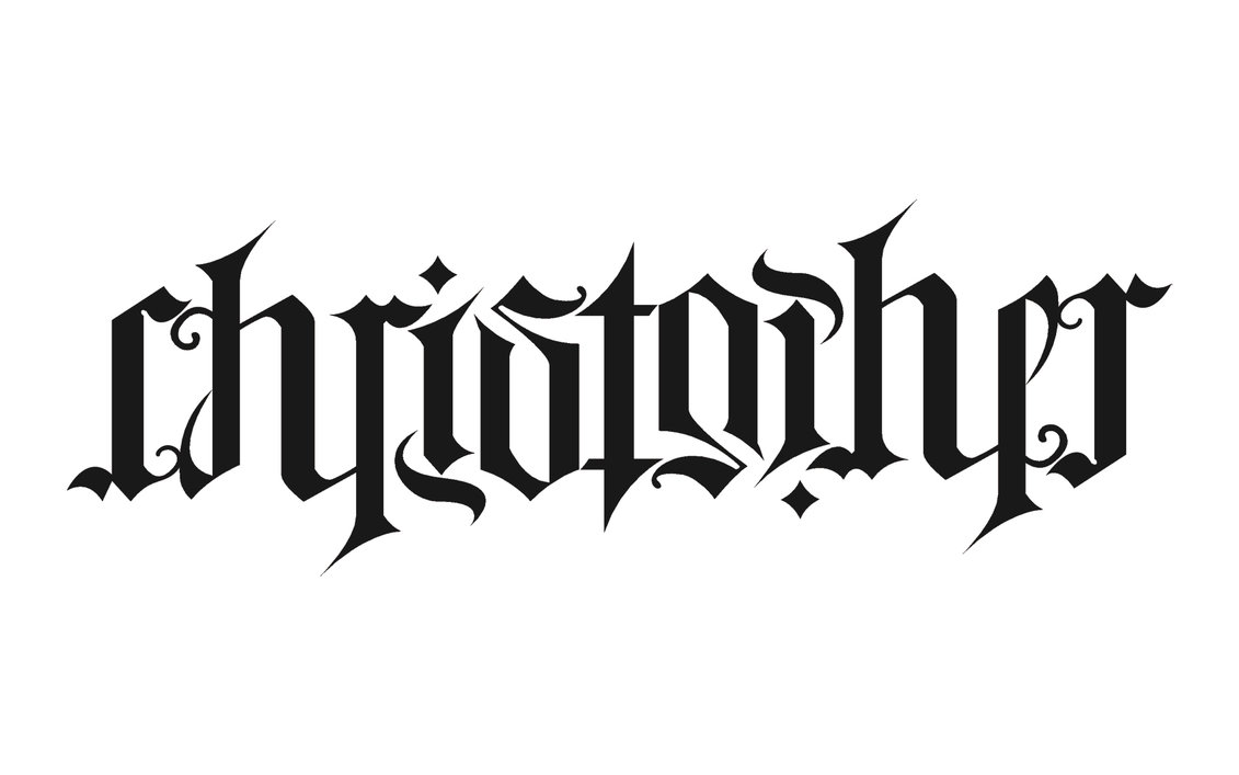 Ambigram Tattoo Design Picture 14