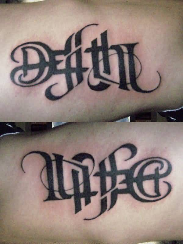Ambigram Tattoo Design Picture 17