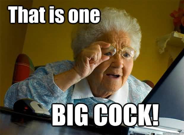 Funny big cock pic