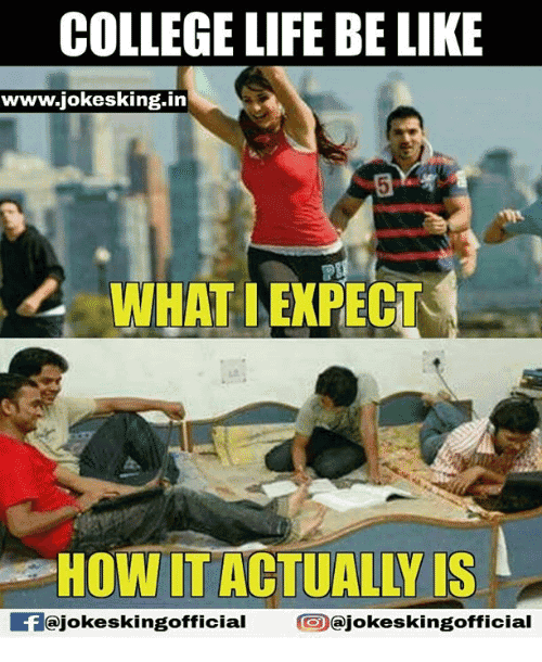 College Life Meme Funny Image Photo Joke 03