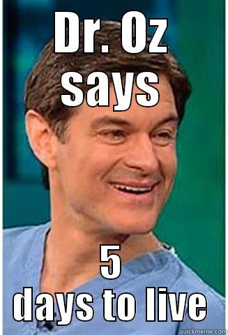 Dr Oz Meme Funny Image Photo Joke 08
