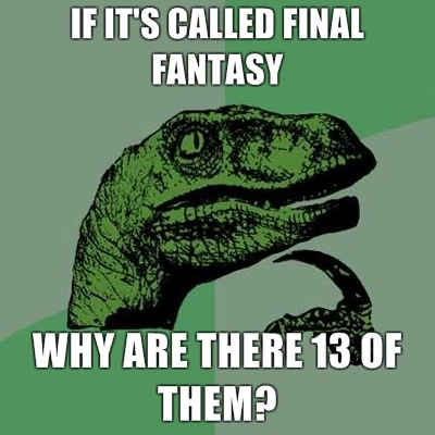 Final Fantasy Meme Image Joke 05