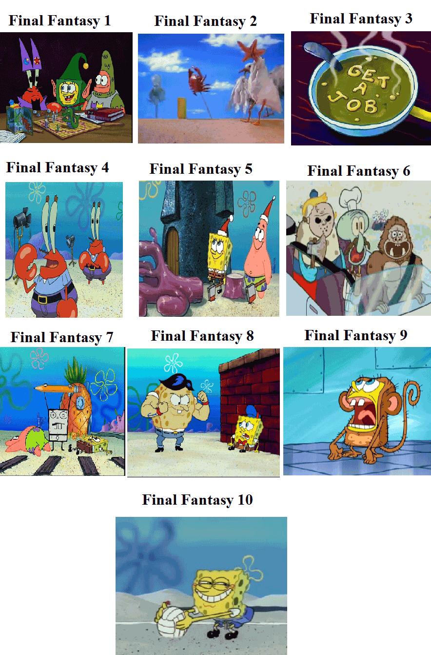 Final Fantasy Meme Image Joke 07