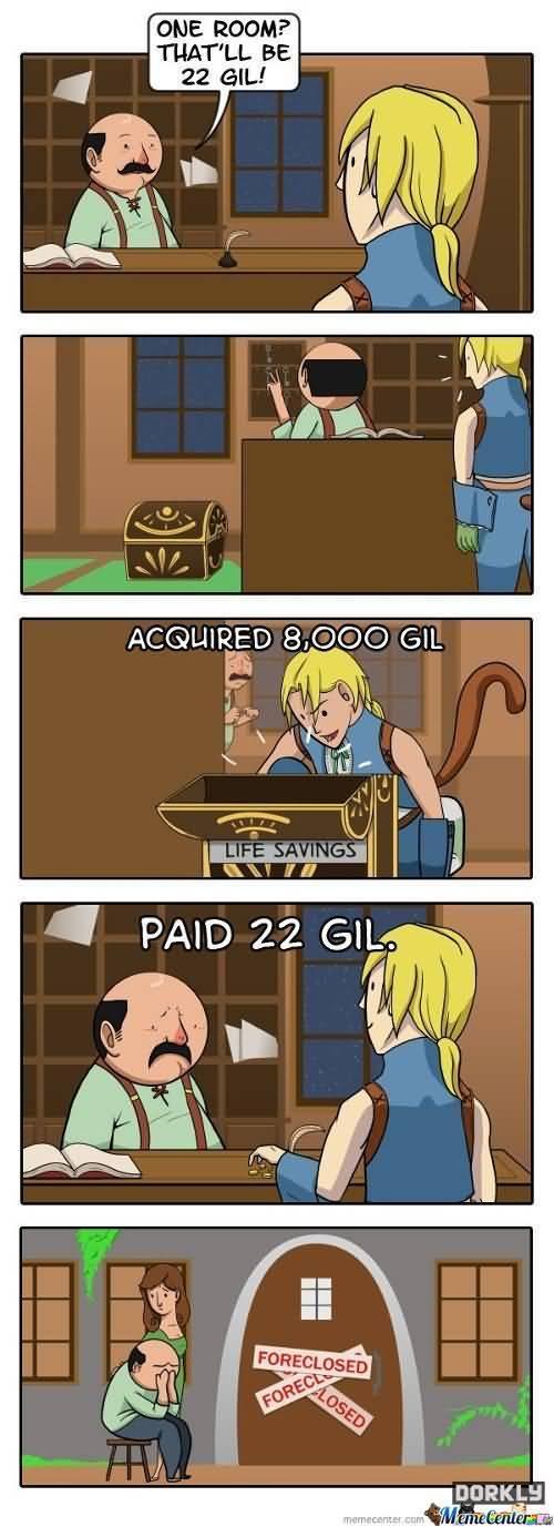 Final Fantasy Meme Image Joke 13