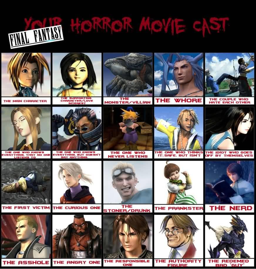 Final Fantasy Meme Image Joke 14