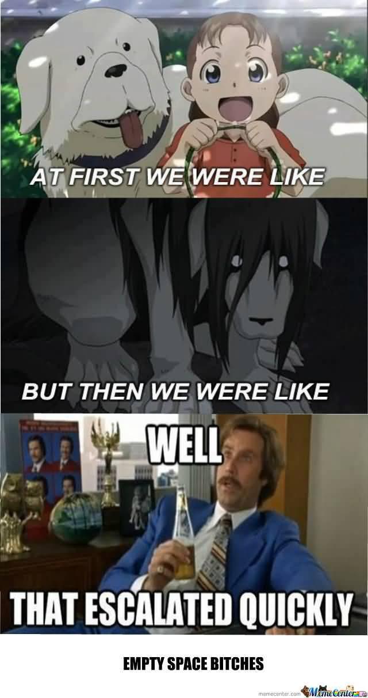 Fullmetal Alchemist Meme Funny Image Photo Joke 14