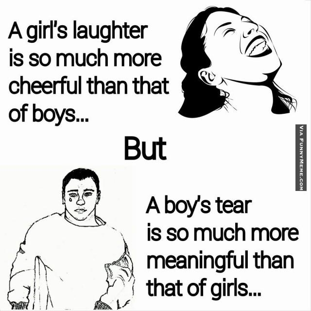 Funny Meme About Boys Image Photo Joke 05