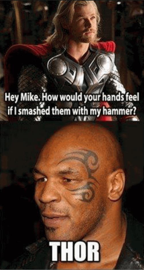 Funny Mike Tyson Meme Image Joke 02