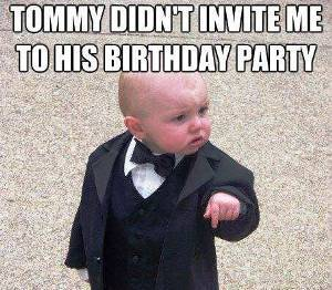 Godfather Baby Meme Funny Image Photo Joke 15