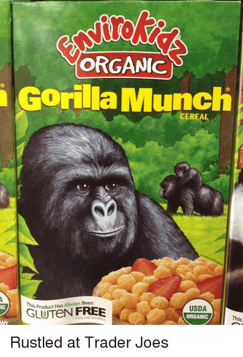 Gorilla Munch Meme Funny Image Photo Joke 10