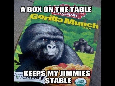 Gorilla Munch Meme Funny Image Photo Joke 16