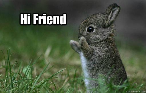 Hi Friend Meme Funny Image Photo Joke 10