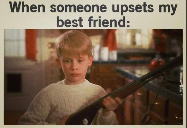 If You Hurt My Best Friend Quotes Meme Image 04