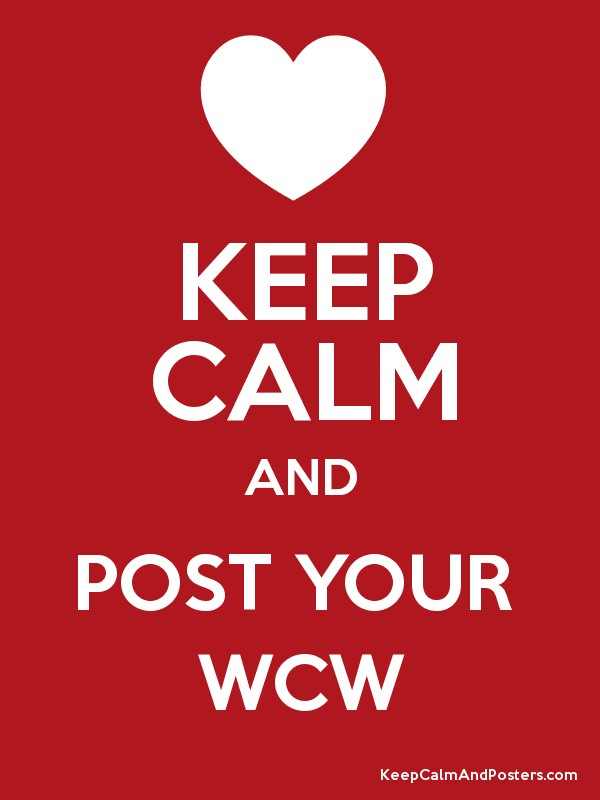 Keep Calm And Post Your WCW