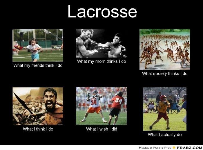 Lacrosse Meme Funny Image Photo Joke 12