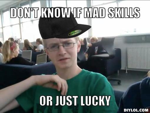 Lucky Meme Funny Image Photo Joke 06