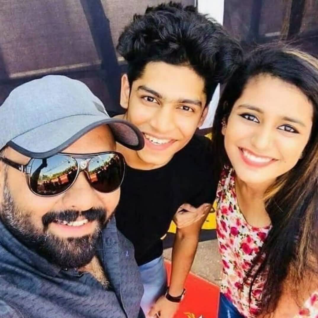 Priya Prakash Boyfriend (BF), Friends and Family 06