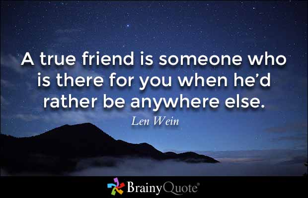 Quotes About Real Friendship 01