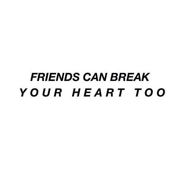 Quotes About Sad Friendship 01
