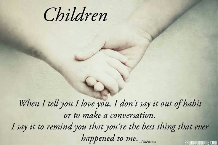 20 Quotes About The Love Of Children and Sayings | QuotesBae