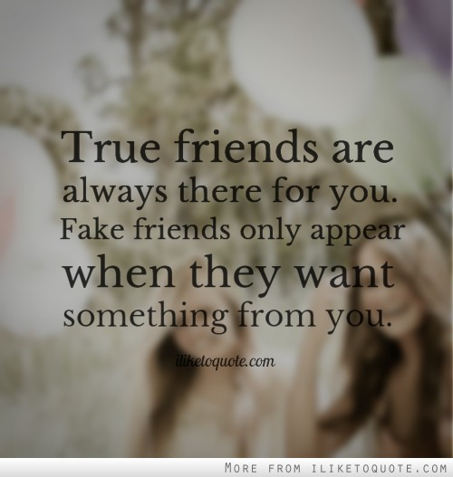 Quotes About True Friendship And Fake Friends 08