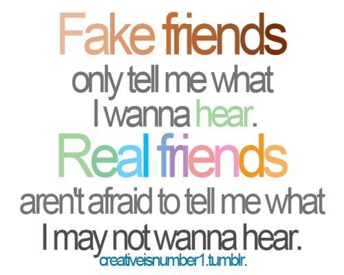 Quotes About True Friendship And Fake Friends 14