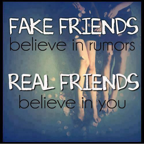 Quotes About True Friendship And Fake Friends 18