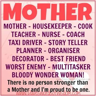 Quotes Of A Proud Mother Meme Image 05