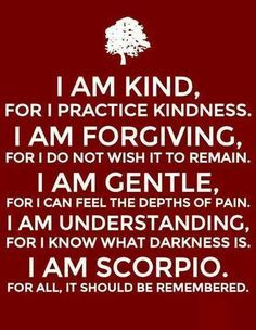 Scorpio Sign Quotes Meme Image 08