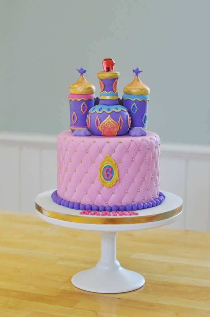Shimmer and Shine Birthday Cake Image Photo Party 11