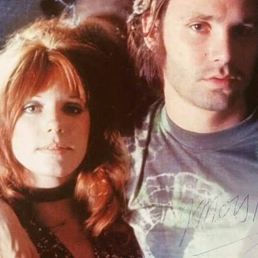 Some Rare Pictures Of Jim Morrison with Girlfriend Pamela Courson 02