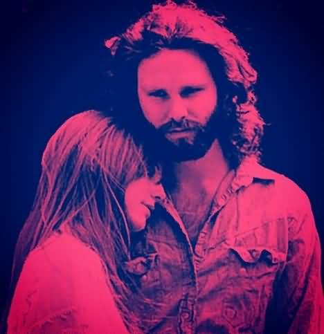 Some Rare Pictures Of Jim Morrison with Girlfriend Pamela Courson 05