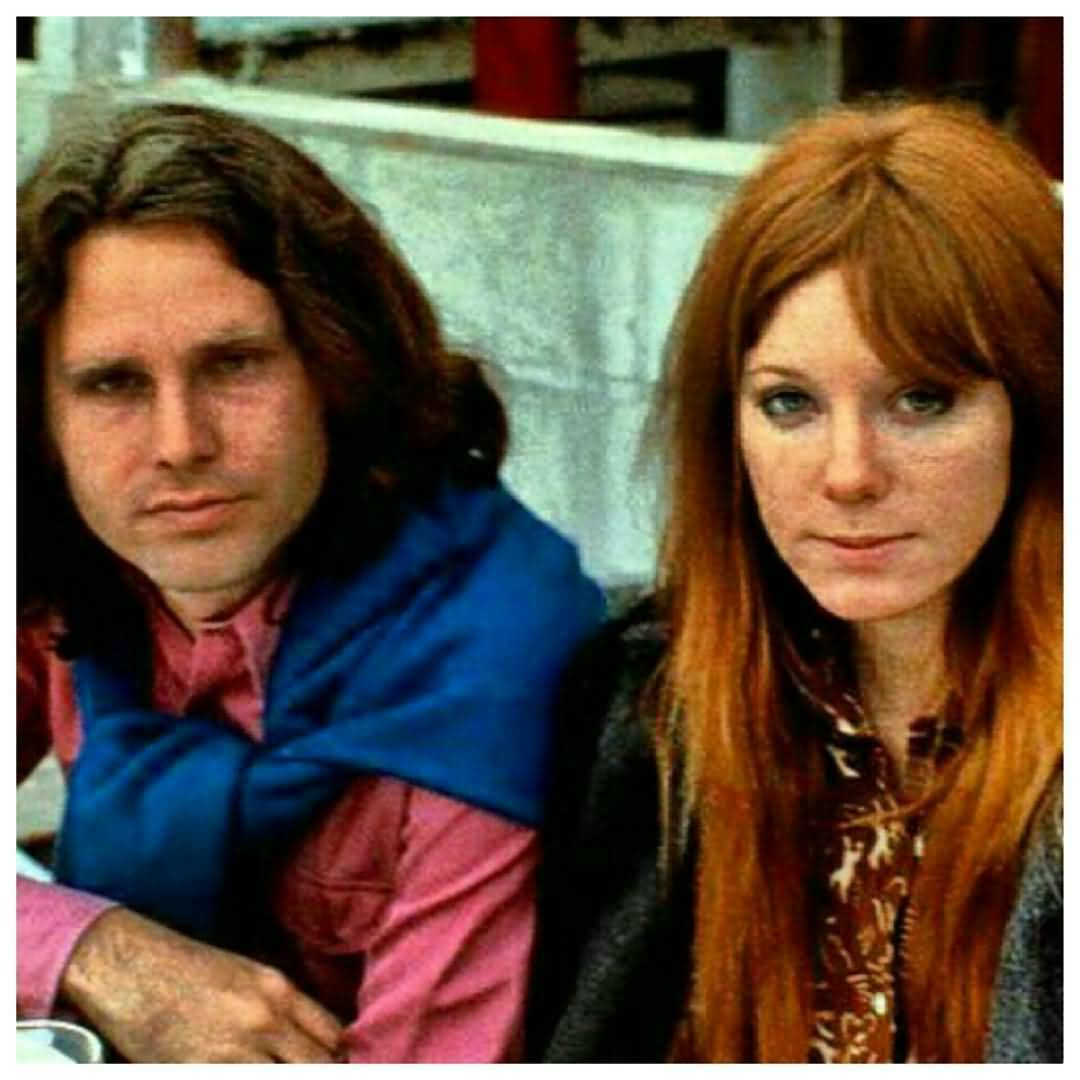 Some Rare Pictures Of Jim Morrison with Girlfriend Pamela Courson 06