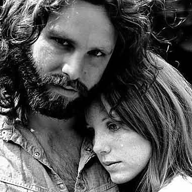Some Rare Pictures Of Jim Morrison with Girlfriend Pamela Courson 09