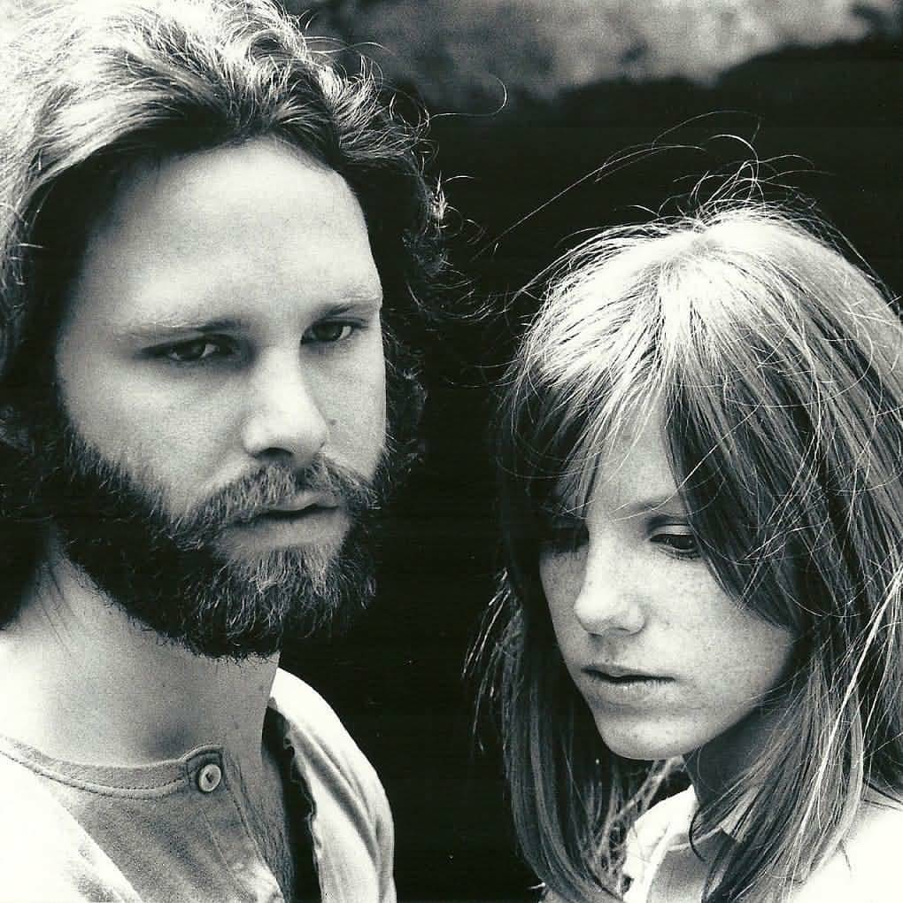 Some Rare Pictures Of Jim Morrison with Girlfriend Pamela Courson 15