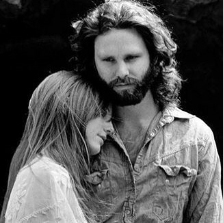 Some Rare Pictures Of Jim Morrison with Girlfriend Pamela Courson 16