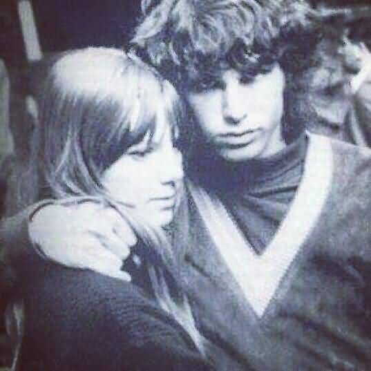 Some Rare Pictures Of Jim Morrison with Girlfriend Pamela Courson 28