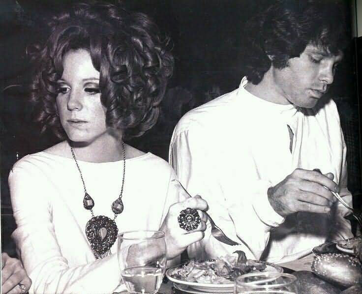 Some Rare Pictures Of Jim Morrison with Girlfriend Pamela Courson 30