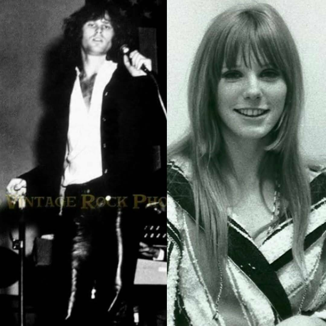 Some Rare Pictures Of Jim Morrison with Girlfriend Pamela Courson 31