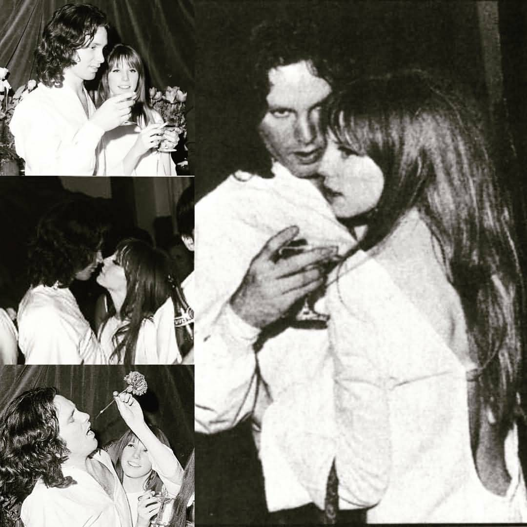 Some Rare Pictures Of Jim Morrison with Girlfriend Pamela Courson 33