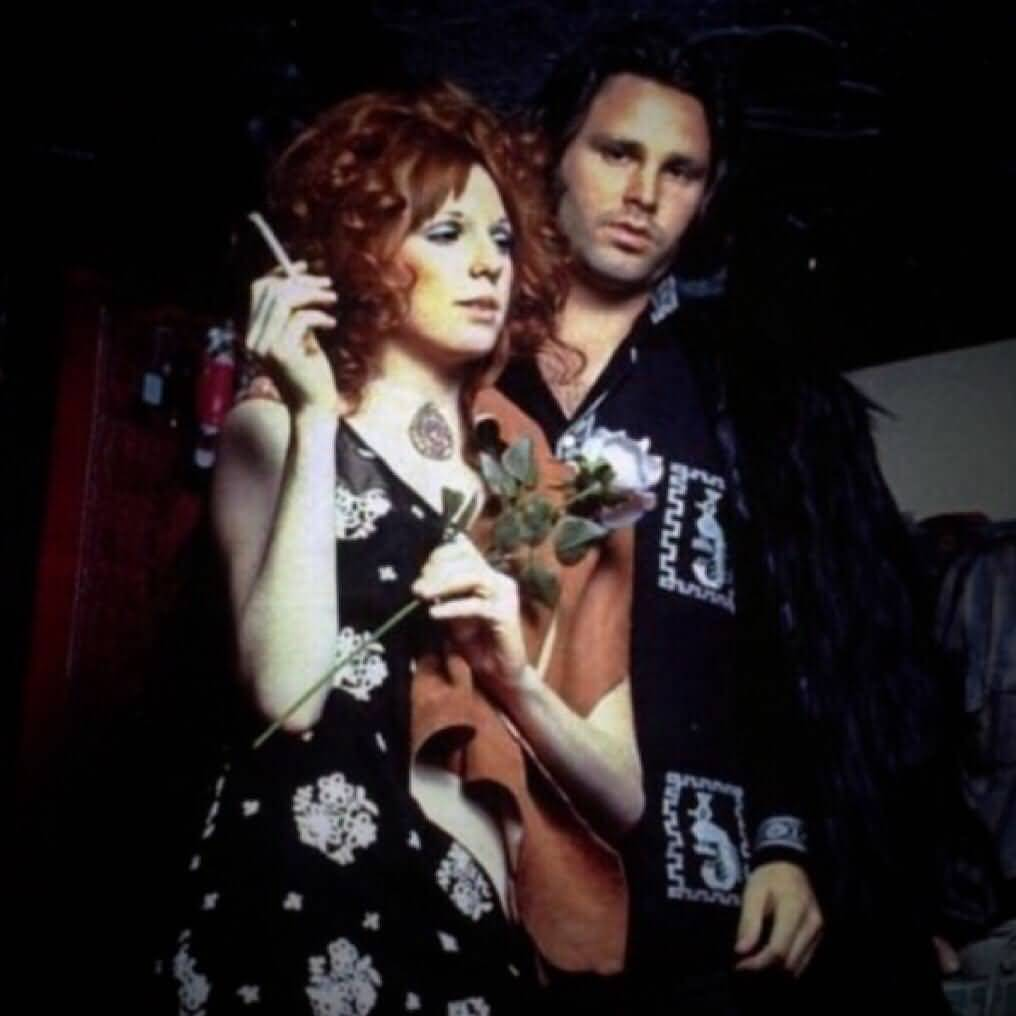 Some Rare Pictures Of Jim Morrison with Girlfriend Pamela Courson 37