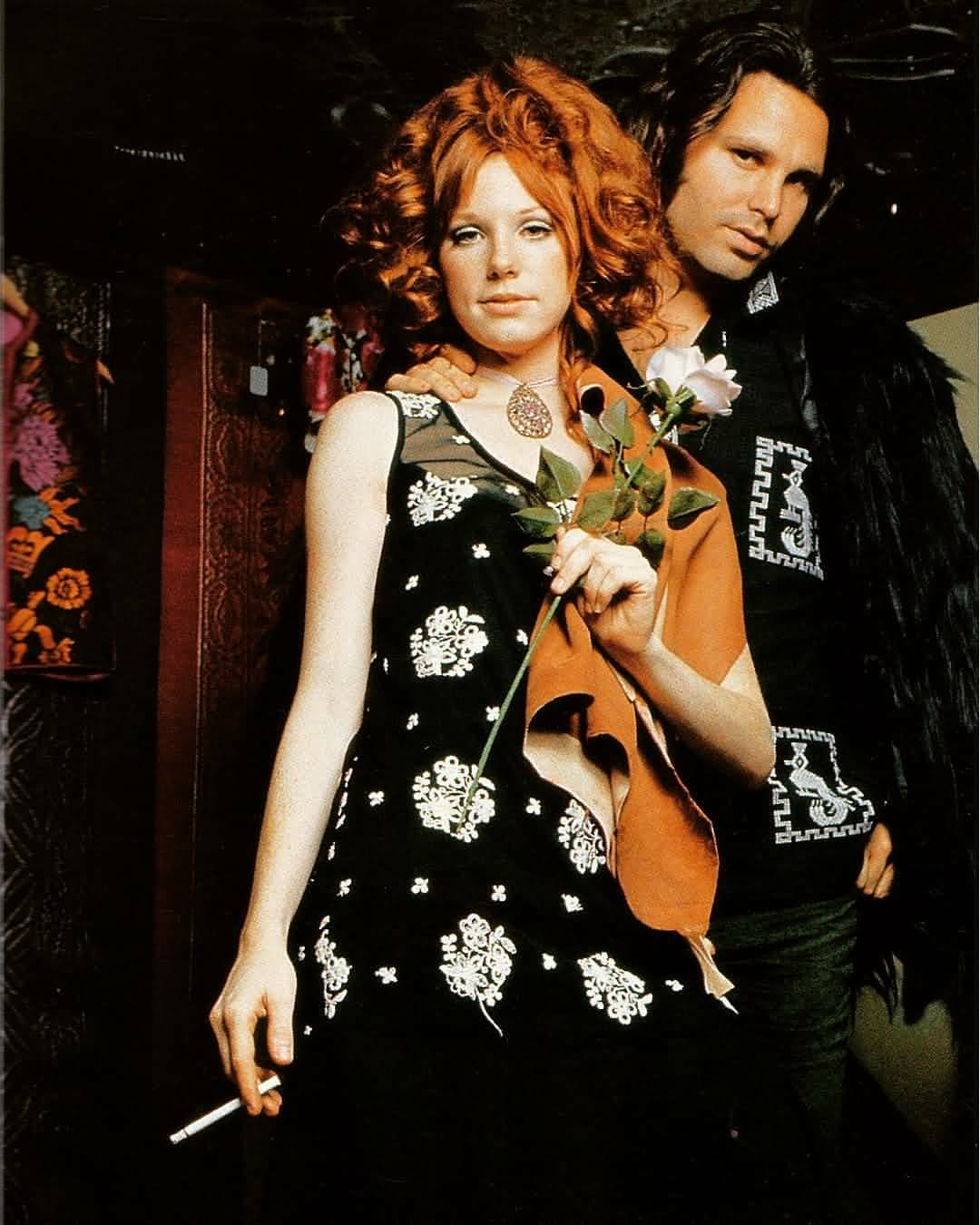 Some Rare Pictures Of Jim Morrison with Girlfriend Pamela Courson 38