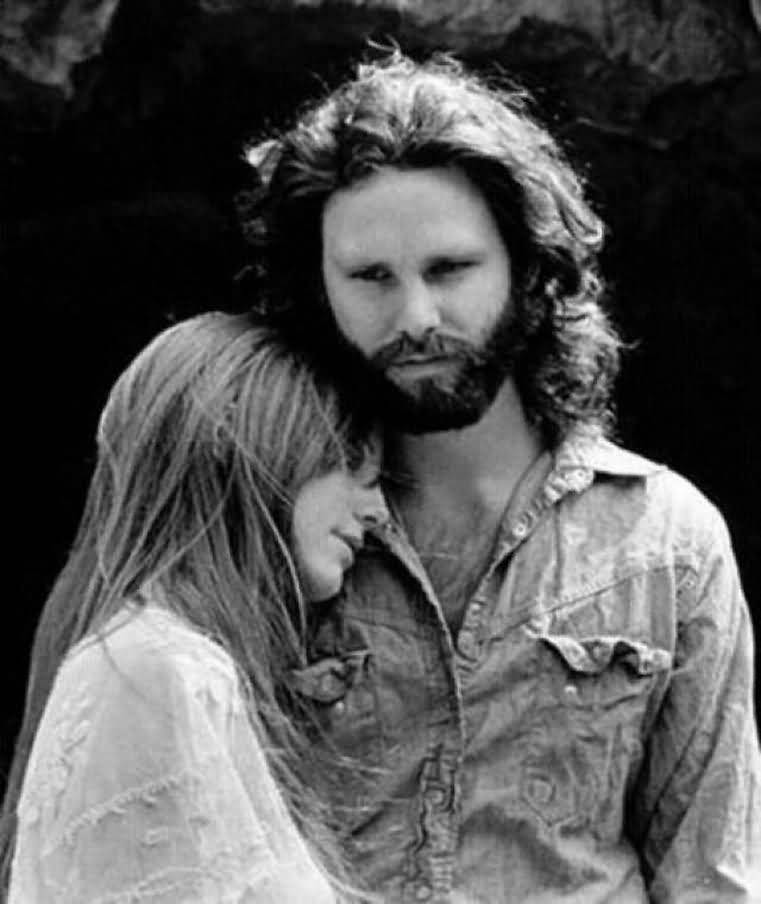 Some Rare Pictures Of Jim Morrison with Girlfriend Pamela Courson 44