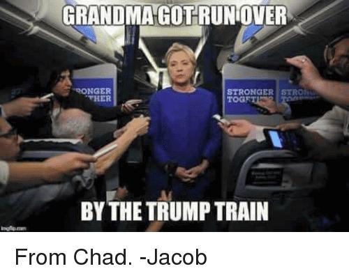 Trump Train Meme Funny Image Photo Joke 06