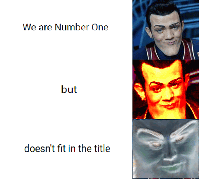 We Are Number One Meme Funny Image Photo Joke 03
