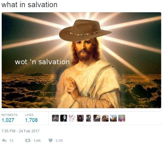 What In Tarnation Meme Funny Image Photo Joke 13